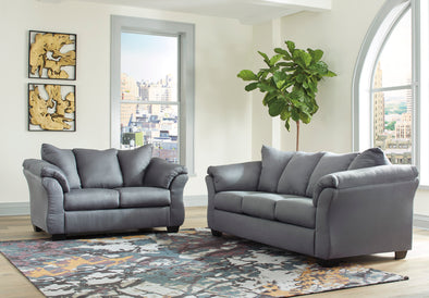 [SPECIAL] Ashley Darcy Steel Living Room Set | 75009