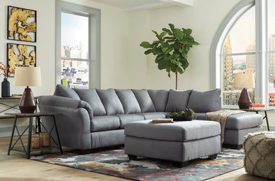 Darcy Steel RAF Sectional