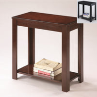 Pierce Black Side Table - Luna Furniture