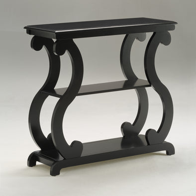 Lucy Black Console Table