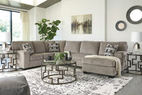 Ballinasloe Platinum RAF Sectional - Luna Furniture