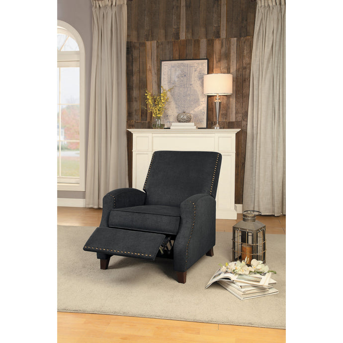 [MONTHLY SPECIAL] Walden Gray Push Back Reclining Chair | 8215 - Bellaria Furniture HomeStore