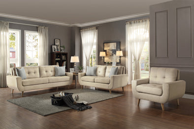 Deryn Beige Living Room Set | 8327