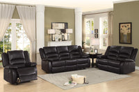 Jarita Brown Reclining Living Room Set - Luna Furniture