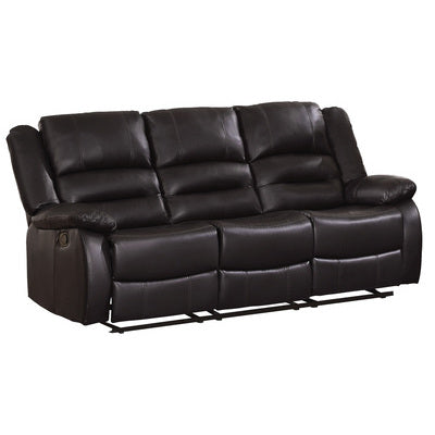 Jarita Brown Reclining Sofa - Luna Furniture