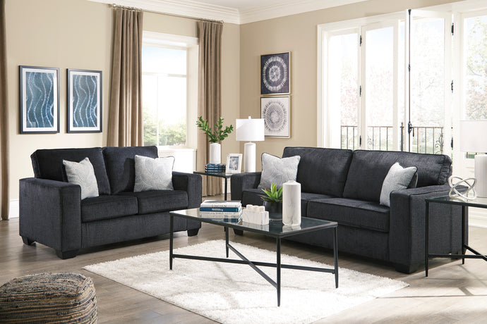 Altari Slate Living Room Set