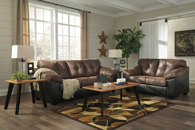 Gregale Coffee Living Room Set