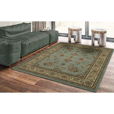 Royal Oriental Light Blue Area Rug - 5X7 - Luna Furniture