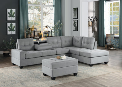 Maston Light Gray Sectional