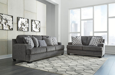Locklin Carbon Living Room Set