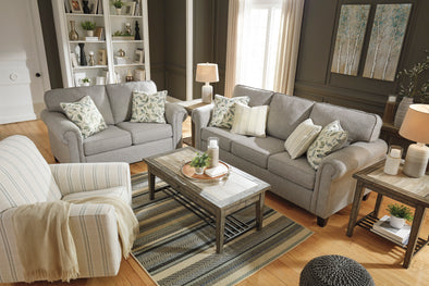 Alandari Gray Living Room Set - Luna Furniture