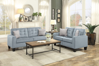 [HOT DEAL] Lantana Gray Living Room Set | 9957