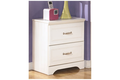 Lulu White Nightstand | B102
