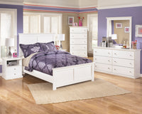Bostwick Shoals White Youth Panel Bedroom Set - Luna Furniture
