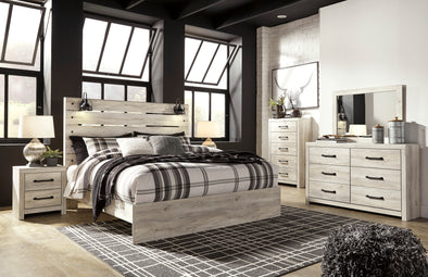 [SPECIAL] Cambeck Whitewash Panel Bedroom Set - Luna Furniture