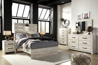 Cambeck Whitewash Youth Panel Bedroom Set | B192