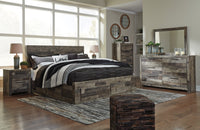 Derekson Gray Storage Platform Bedroom Set | B200 - Luna Furniture