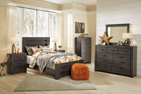 Brinxton Charcoal Panel Youth Bedroom Set - Luna Furniture