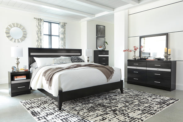 [SPECIAL] Starberry Black Panel Bedroom Set - Luna Furniture