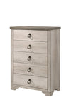 Patterson Driftwood Gray Panel Bedroom Set - Luna Furniture