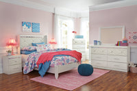 Dreamur Champagne Panel Youth Bedroom Set - Luna Furniture