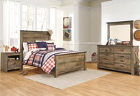 Trinell Brown Panel Youth Bedroom Set - Luna Furniture