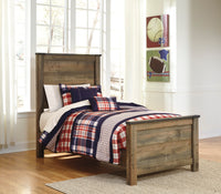 Trinell Brown Twin Panel Bed - Luna Furniture
