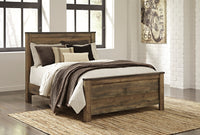 Trinell Brown Queen Panel Bed - Luna Furniture
