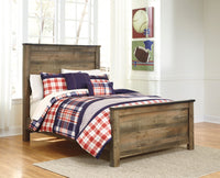 Trinell Brown Full Panel Bed - Luna Furniture