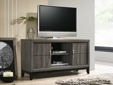 "Akerson Gray 55"" TV Stand - Luna Furniture"