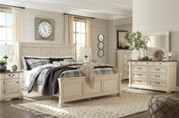 Bolanburg Antique White Panel Bedroom Set - Luna Furniture
