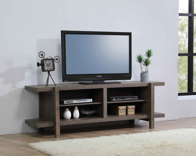 "Tacoma Brown 65"" TV Stand - Luna Furniture"