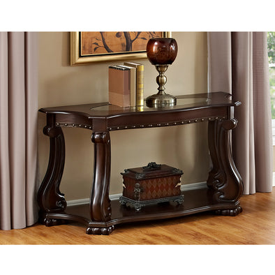 Madison Brown Console Table