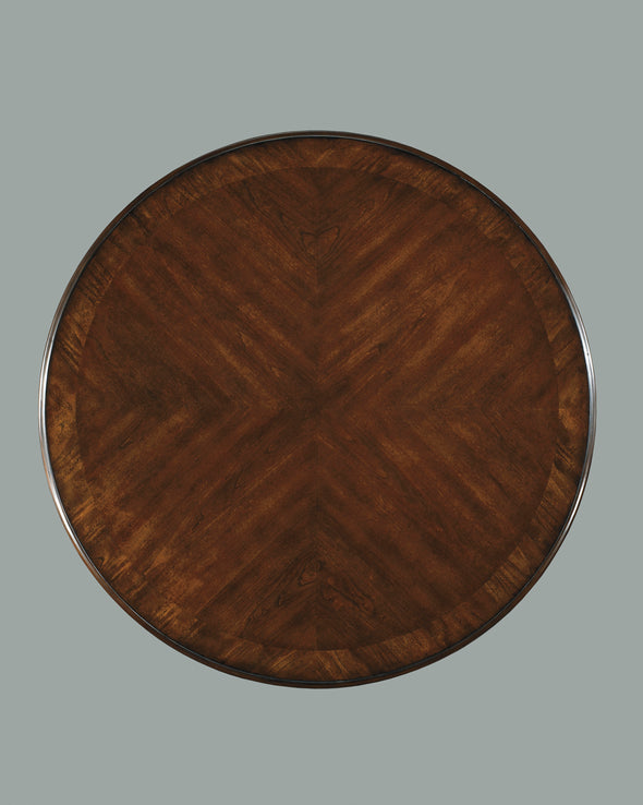 Leahlyn Medium Brown Round Dining Table - Luna Furniture