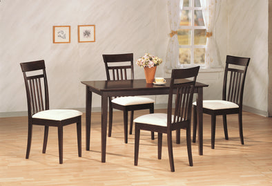 Mason Espresso Dining Set - Luna Furniture