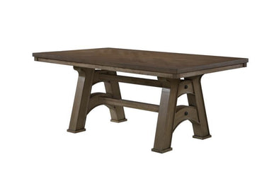 Matthew Gray Dining Table - Luna Furniture
