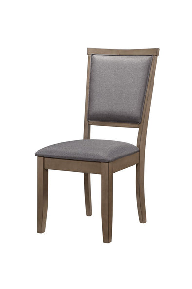 Adeline Gray Side Chair, Set of 2