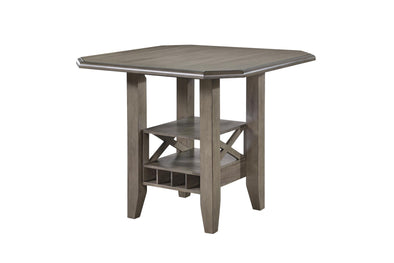 Calvin Gray Counter Height Table - Luna Furniture
