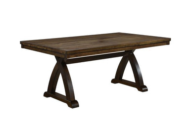 Fairmont Brown Dining Table - Luna Furniture