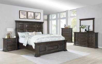Arden Espresso Panel Bedroom Set
