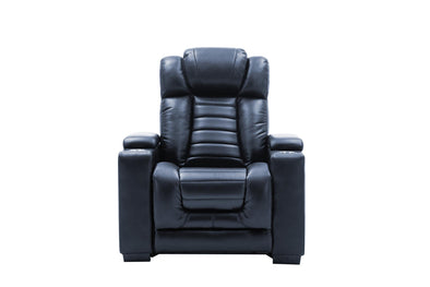 Collin Navy Power Recliner - Luna Furniture