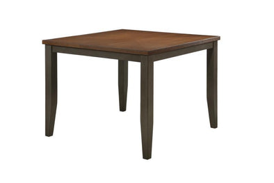 Marco Gray/Brown Counter Height Table - Luna Furniture