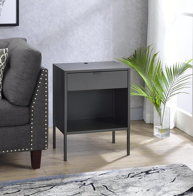 Fiona Gray End Table