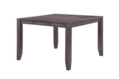 Ariel Brown Square Counter Height Table - Luna Furniture