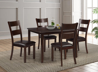 Archer Brown 5-Piece Dining Room Set