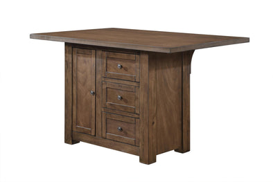 Norton Brown Counter Height Table - Luna Furniture