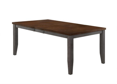 Marco Gray/Brown Dining Table - Luna Furniture