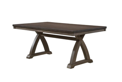 Fairmont Gray Dining Table - Luna Furniture