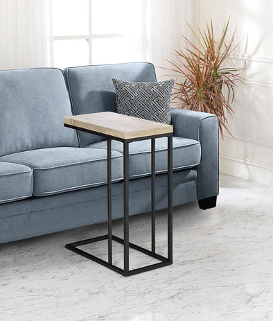 Amelia Taupe/Black Chair Side Table