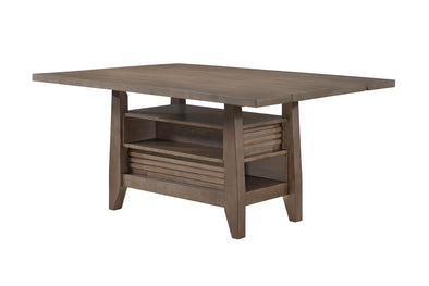 Adeline Gray Dining Table - Luna Furniture